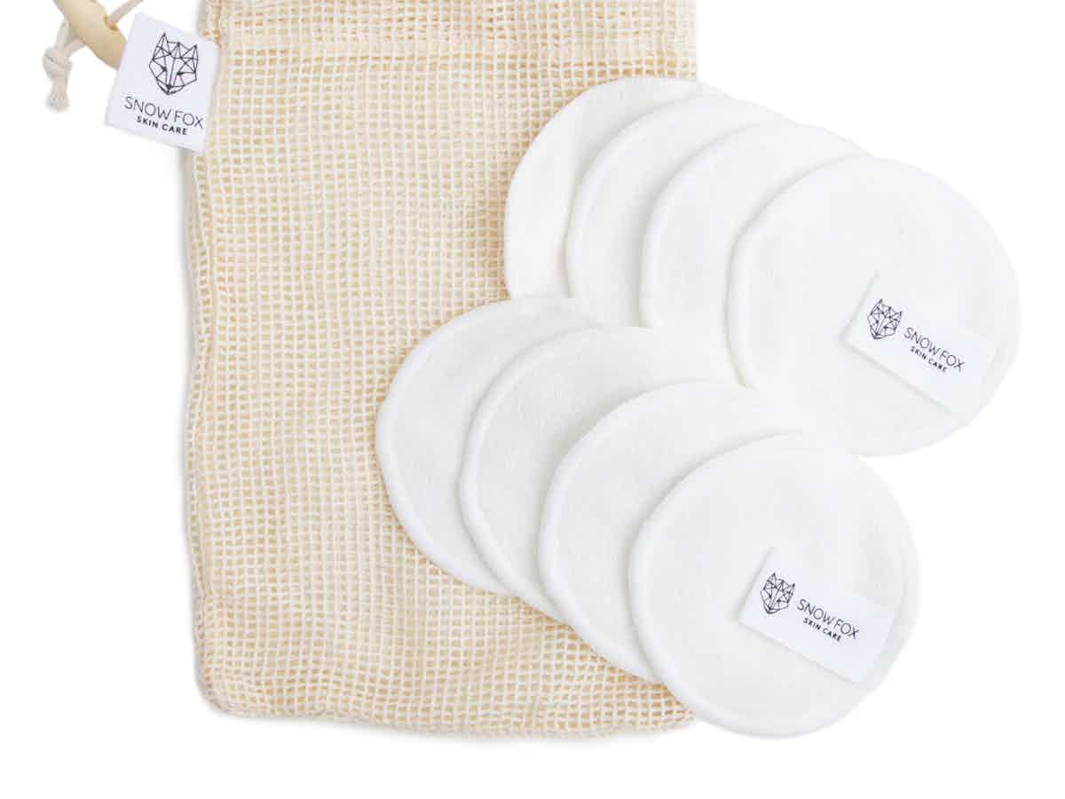 Bamboo makeup remover pads save your money and reduce unnecessary cotton waste.