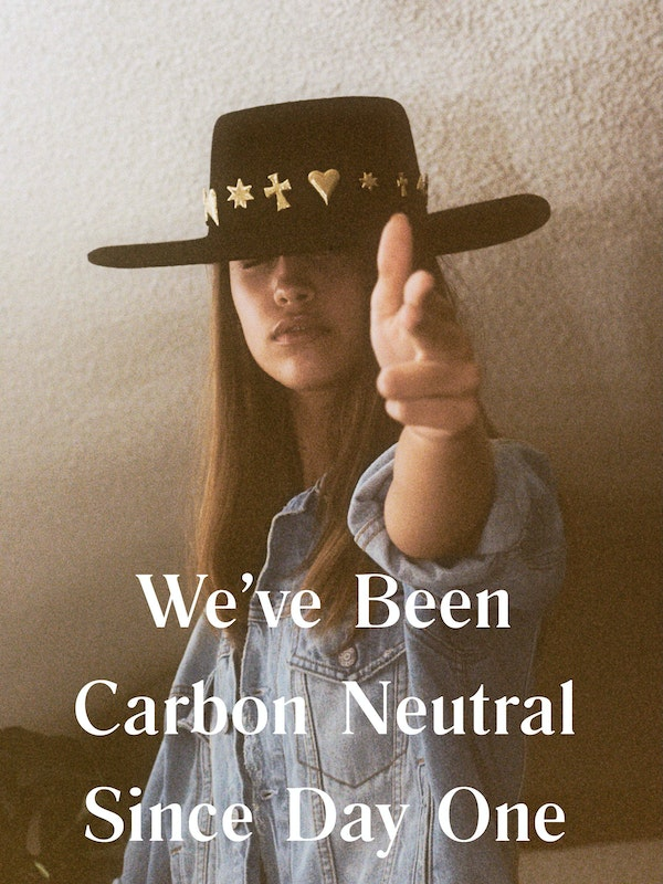 Boyish message they have been carbon neutral since day one